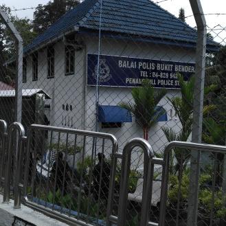 Police hut