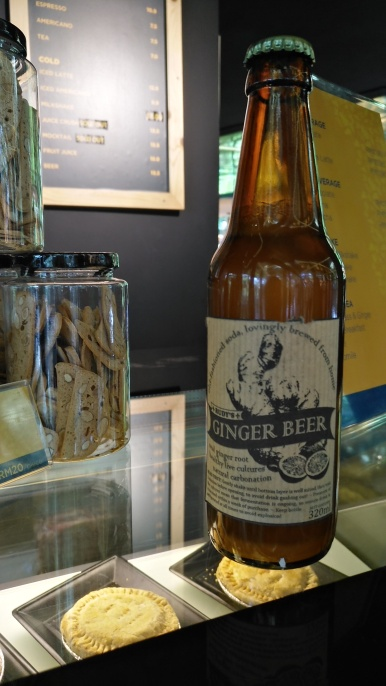 Locally brewed Ginger Beer