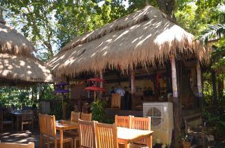 Cabana styled bar.