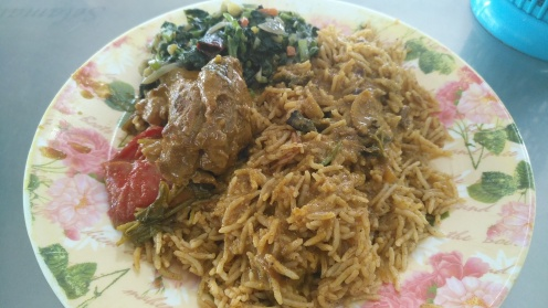 Lamb Briyani at Khaleel's