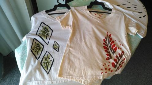 Casual shirts with batik design