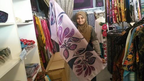 Hand crafted Batik scarf
