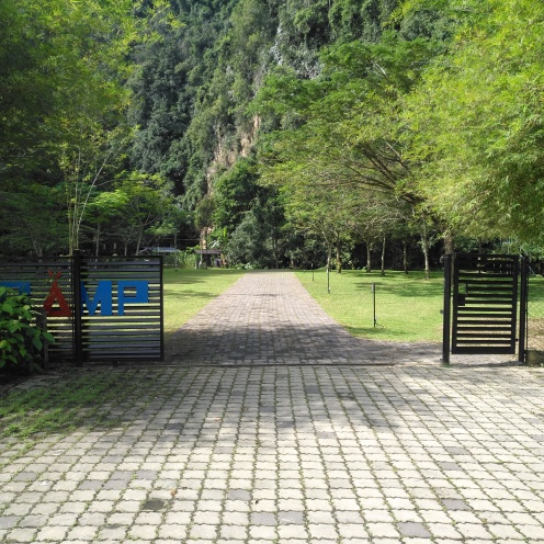 XCamp's gates
