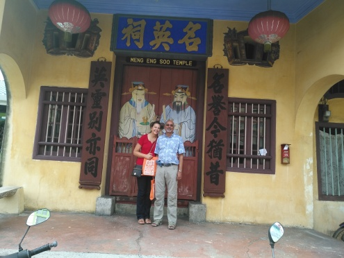 Funniest jolliest couple from the US visiting Penang for a week