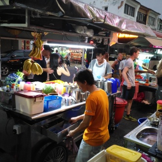 Street food coolers the night life