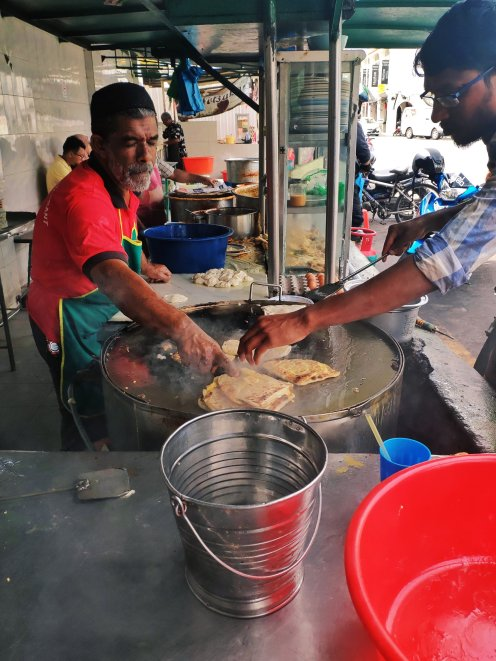 Churning out rotis per second