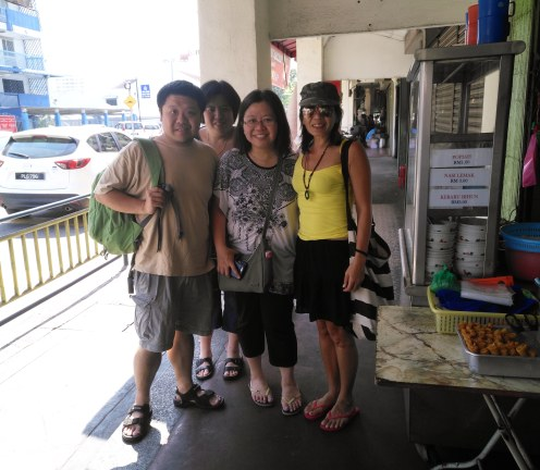 Visitors from Singapore!